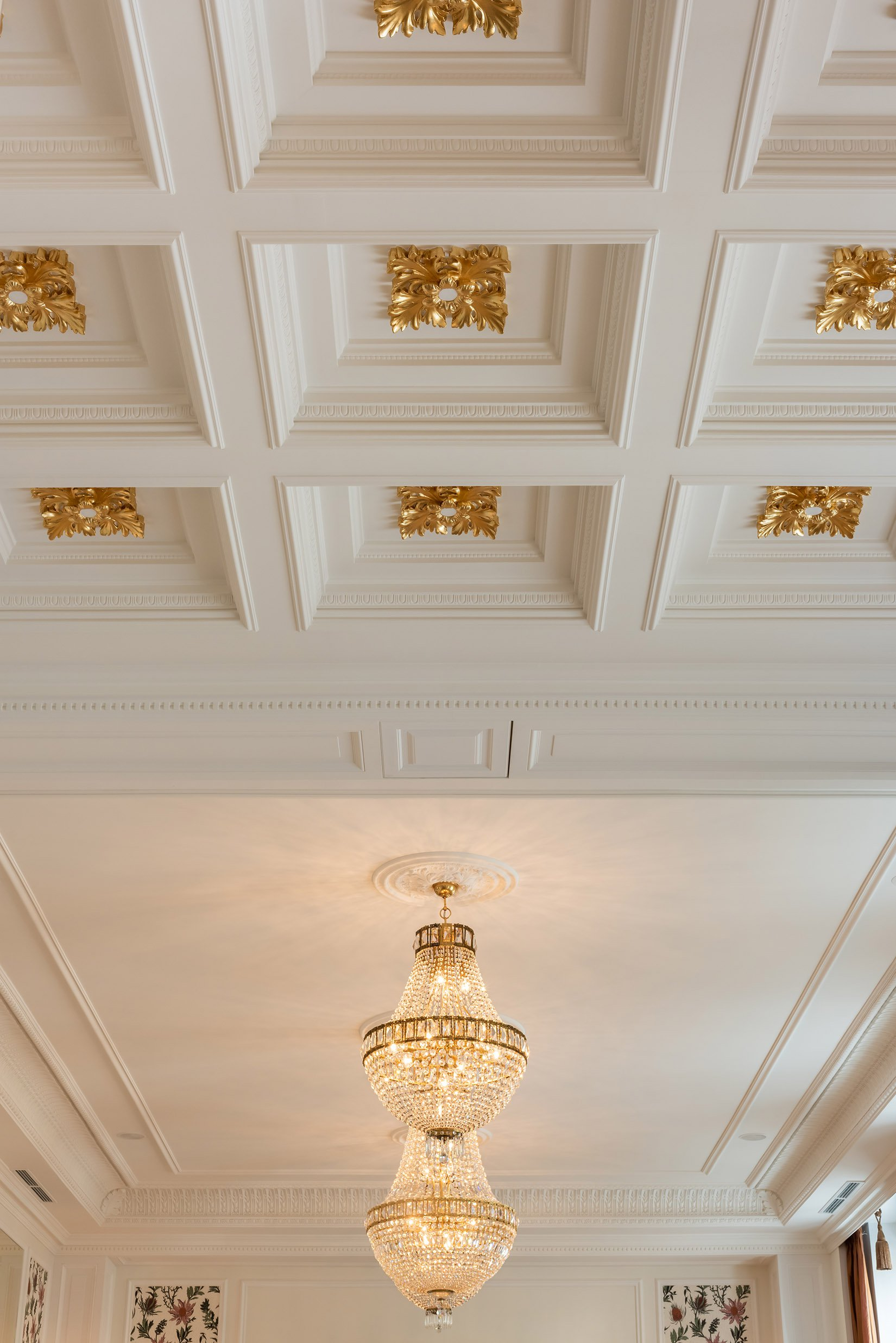 Conference room decorated ceiling photo Fryderyk Concert hall